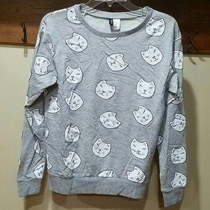 NWOT Cat Sweatshirt